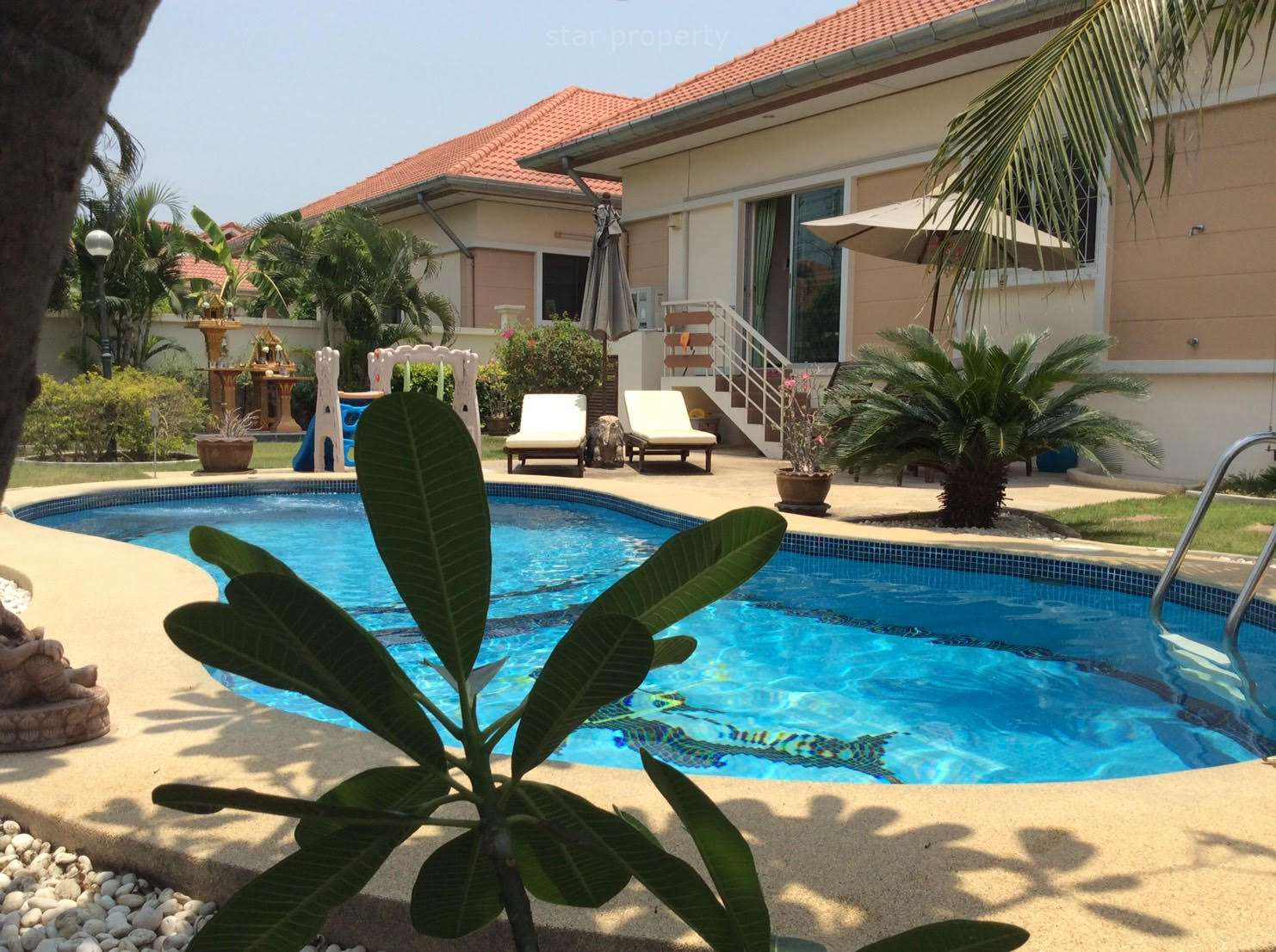 Pool Villa for Rent Hua Hin Soi 70 at Baan Thai Village