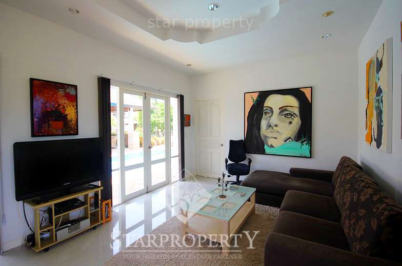 Beautiful Poolside Villa For Rent Hua Hin Soi 88 at Hillside Hamlet 4     103/30