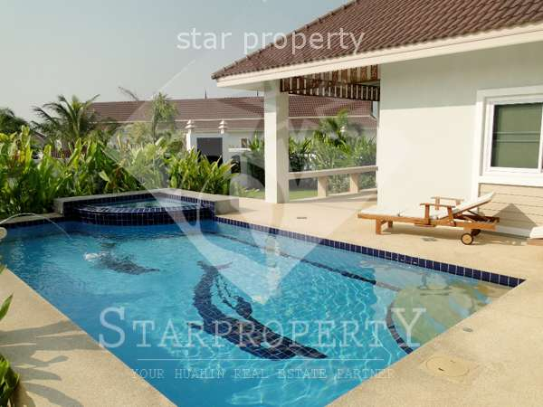 Smart House villa for rent  Village II at Soi Moo Baan Borfai Petchkasem Rd, Hua Hin,