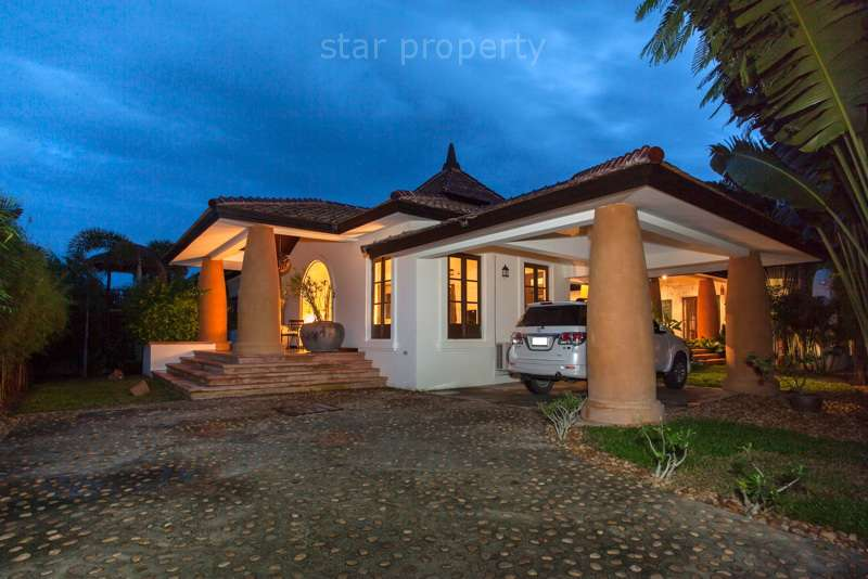 Fantastic Luxury Bali House with Private Pool for rent at Hunsa soi116