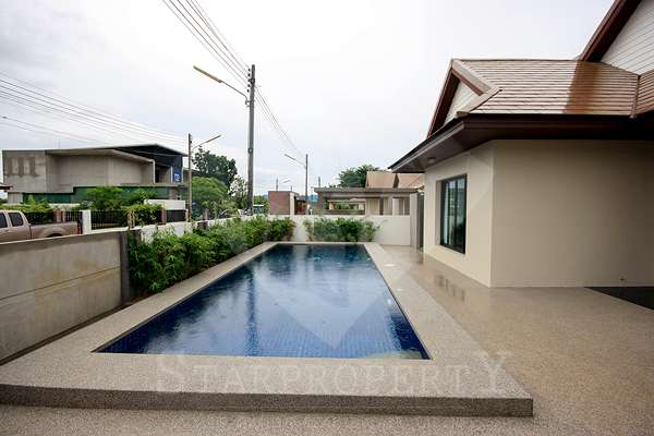 Hua Hin Hill Villa for rent Soi 102 at The house is located in soi 102