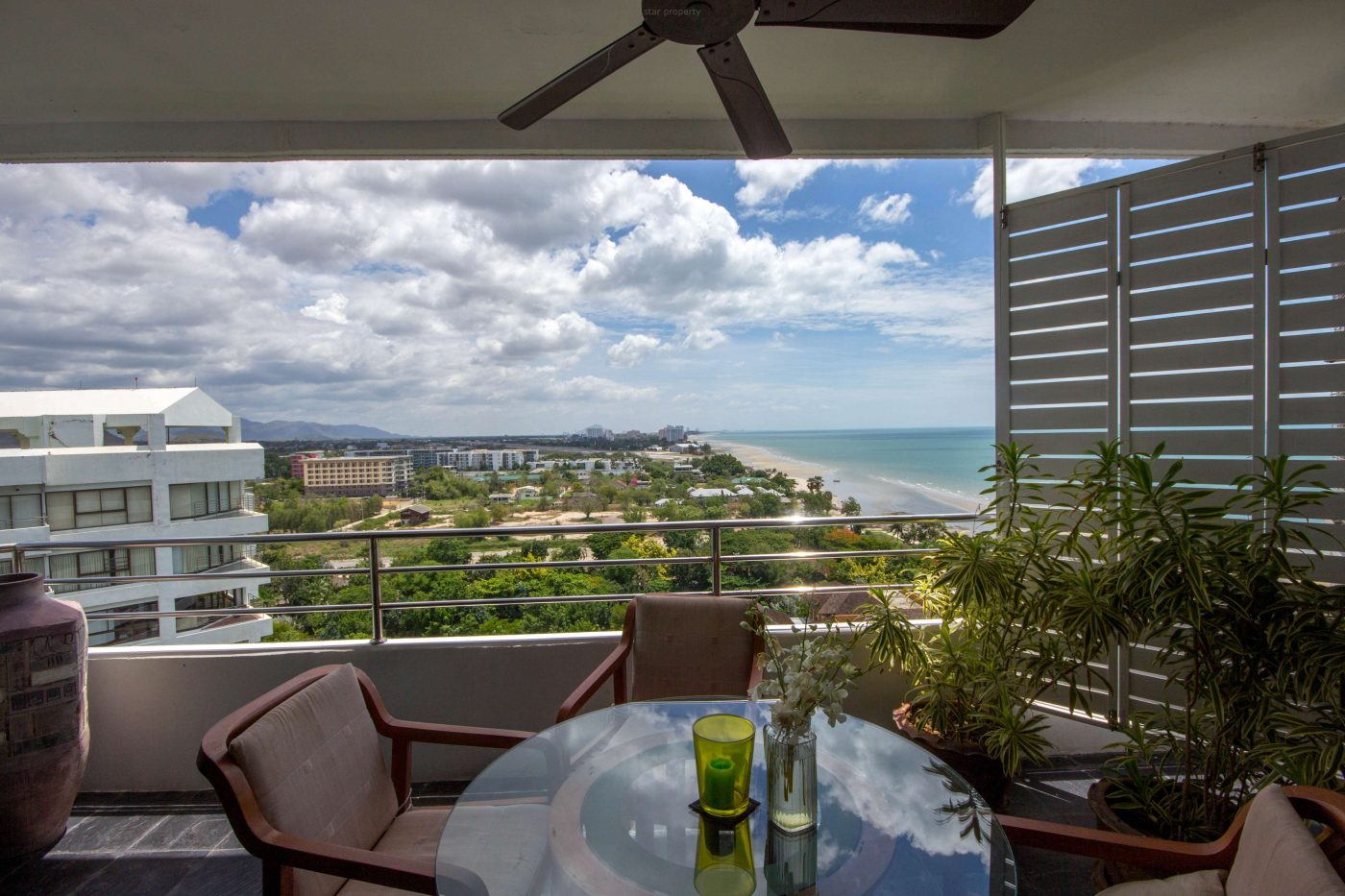 Palm Pavilion Sea View condo for Sale