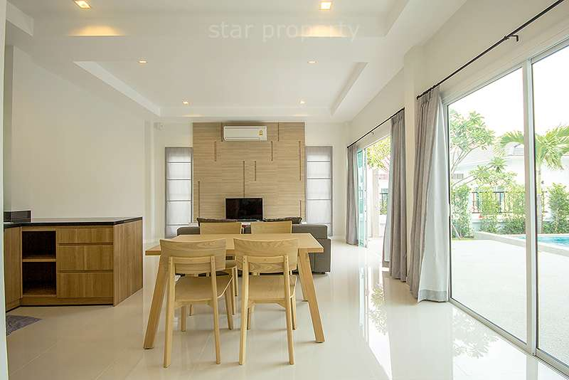 4 bedroom villa for rent hua hin