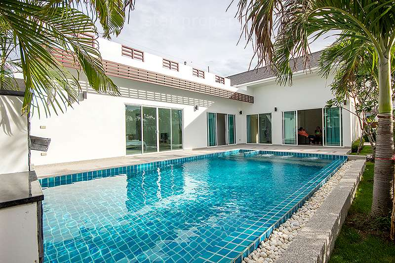 Wonderful Luxury Pool Villa for Rent at Sivana Soi HuaHin 126