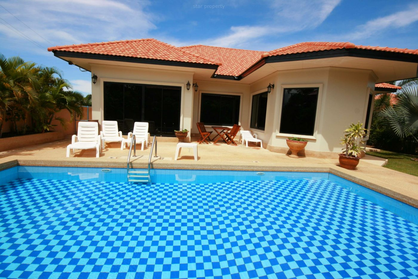 Beautiful Villa with Pool at Orchid for Rent at Star Property Hua Hin Co., Ltd 6/5
