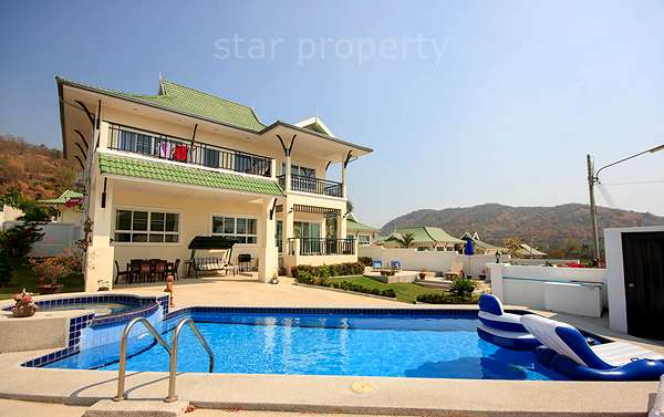 Hua Hin Pavilion Soi 56  villa for rent at Hua Hin Pavilion Soi 56