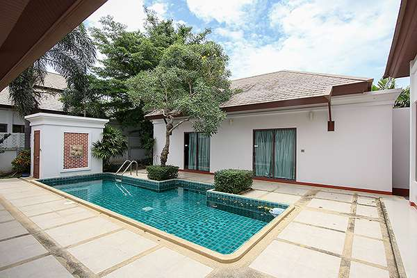 Near Golf 3 Bedroom Pool Villa for Rent at Beautiful House for Rent at Lavallee