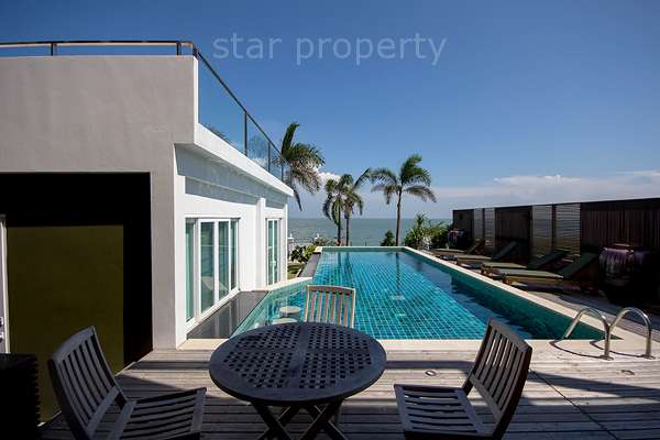 Beach Front 2 Storey With Lovely Pool at cha am
