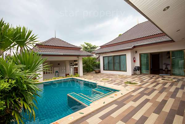 Bungalow for Rent with Private Pool Hua Hin Soi 112 at Baan Araya 39/577 Soi 2