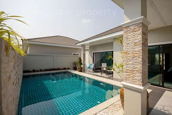 Beautiful Pool Villa for Rent Hua Hin at Baan Warin Hua Hin Soi 70