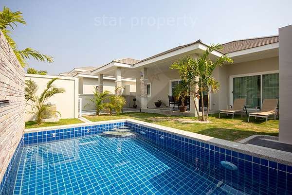 Beautiful Pool Villa for Rent Hua Hin Soi 70 at Baan Warin