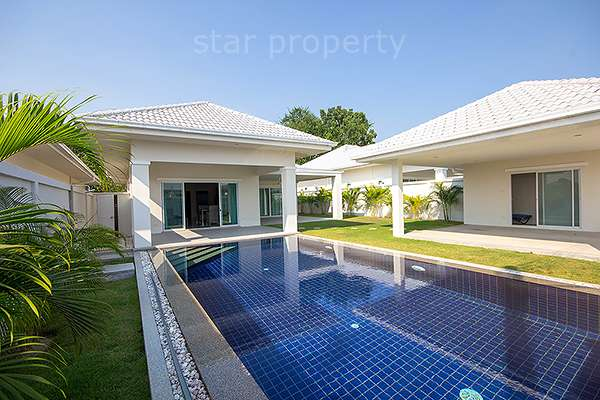 Soi 88 Modern Pool Villa for Rent at Avenue Gold Hua Hin Soi 88