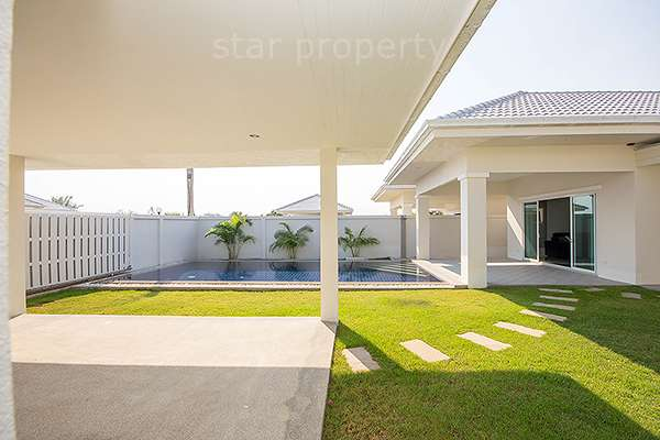 near shopping mall villa for rent hua hin