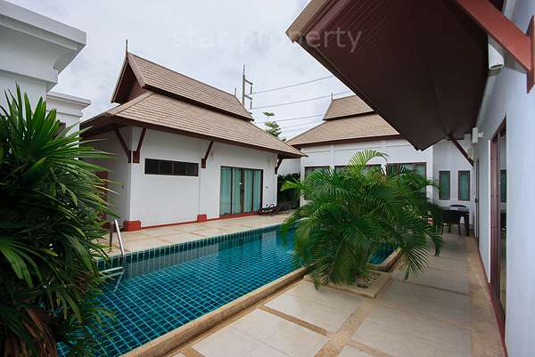 Pool Villa for rent at La Vallee Hua Hin Soi 70 at Pool Villa at La Vallee Hua Hin Soi 70