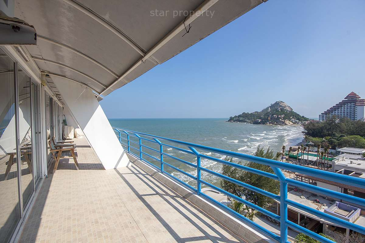 Sea View Condominium for sale at Baan Sangchan Khao Takiab