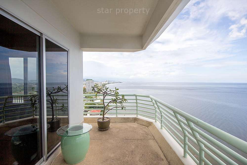 3 Bedroom Unit with Sea View at Hua Hin District, Prachuap Khiri Khan, Thailand