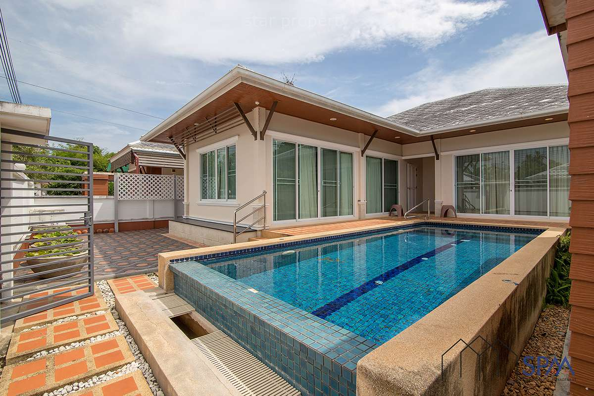 Beautiful 3 Bedroom Pool Villa for Sale at Kirinakara Hin Lek Fai