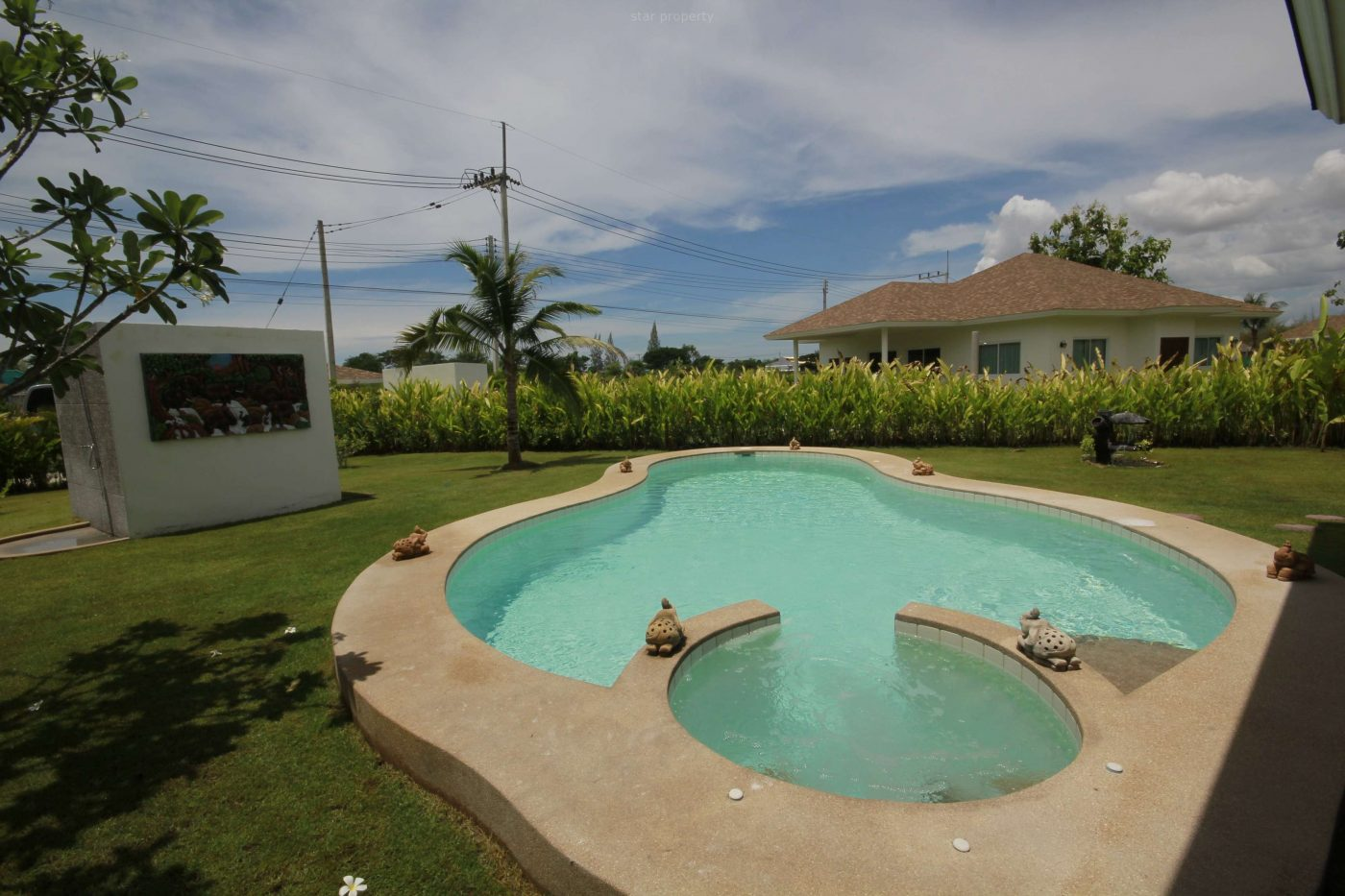 Near Golf Pool Villa for Rent at Groove Villas