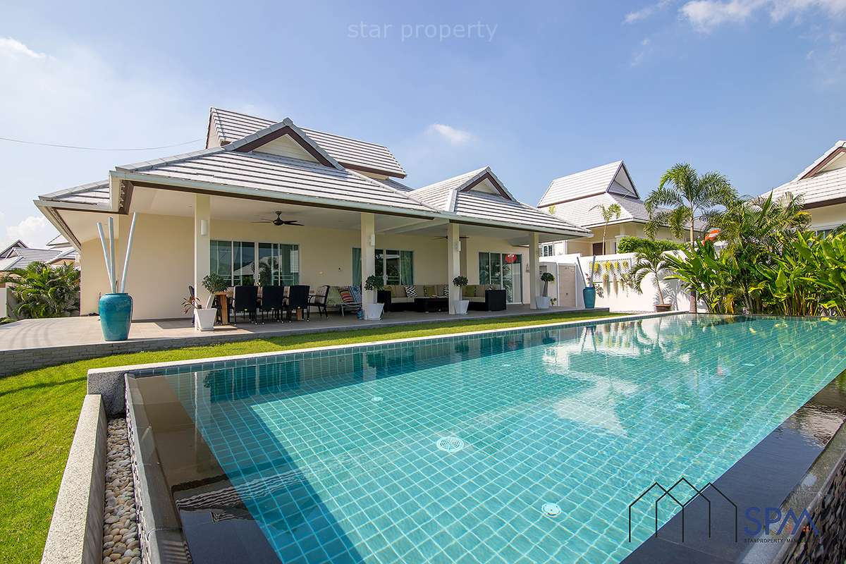 Luxury 3 Bedroom Pool Villa at Emerald Scenery Hua Hin Soi 112