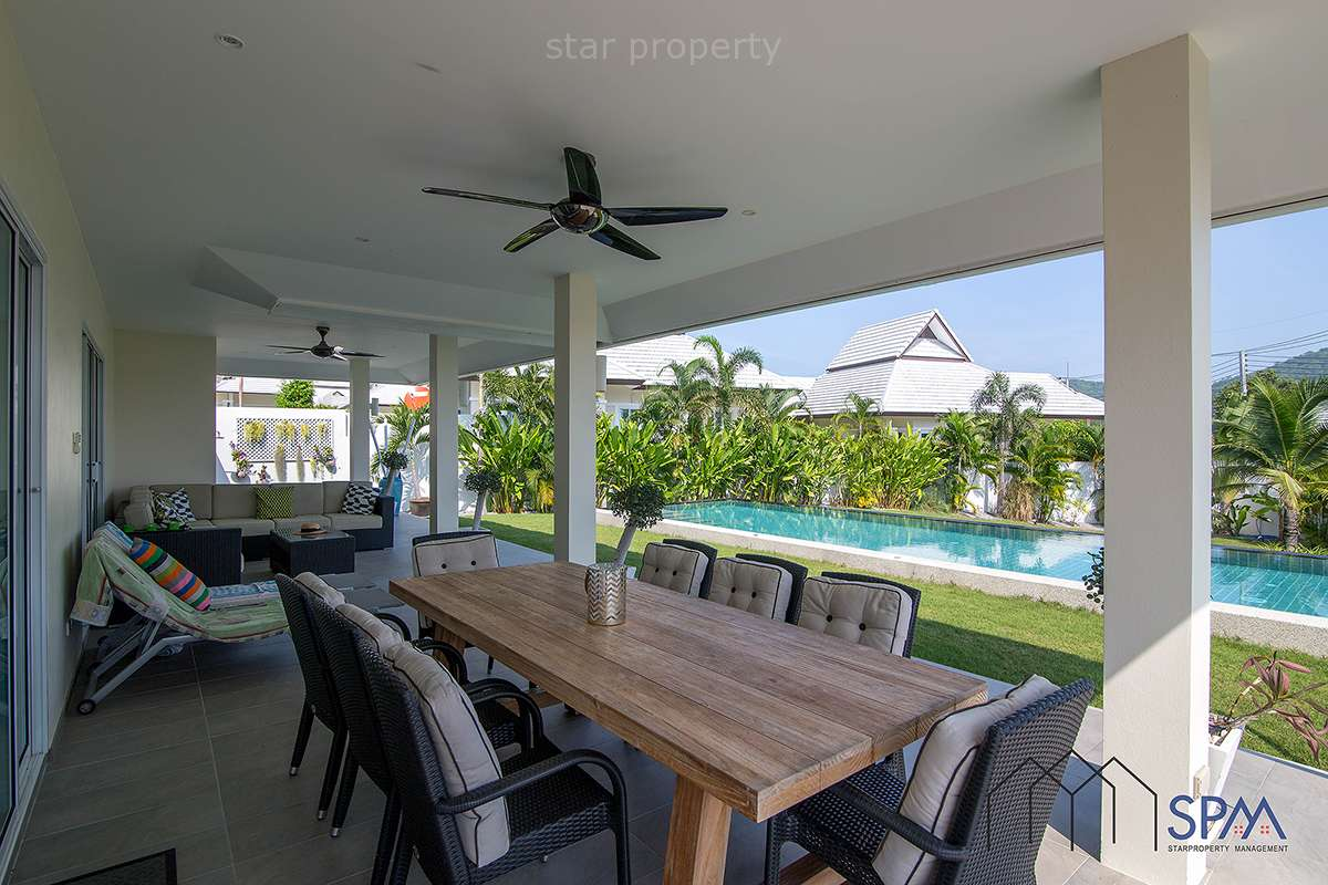 solar power pool villa for sale hua hin
