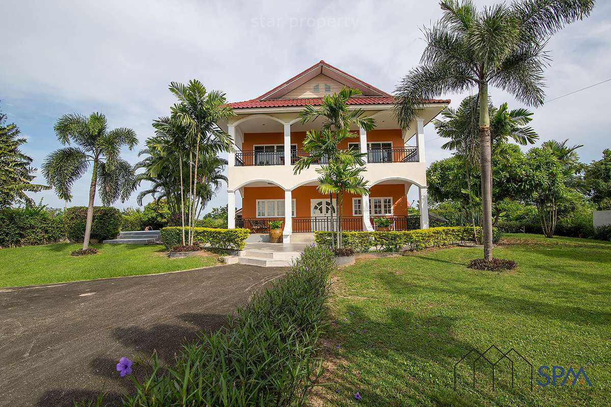 Large 2 Storey Pool Villa on Large Land at Hua Hin Soi 88-WangKatha