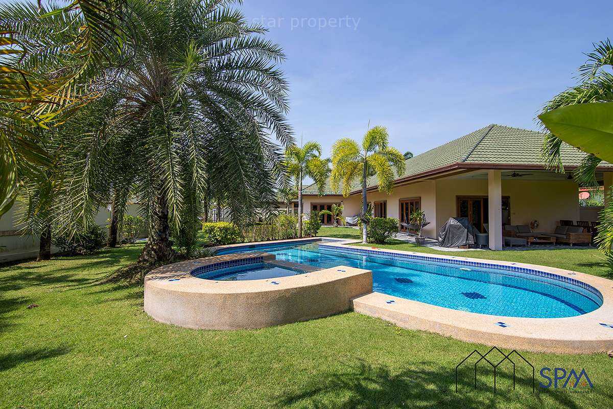 Hot Deal Pool Villa on Large Land for Sale at Coconut Gardens 2 Hua Hin Soi 70
