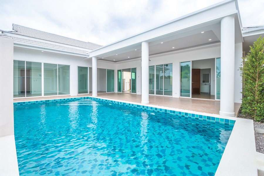 hua hin 3 bedroom pool villa for sale