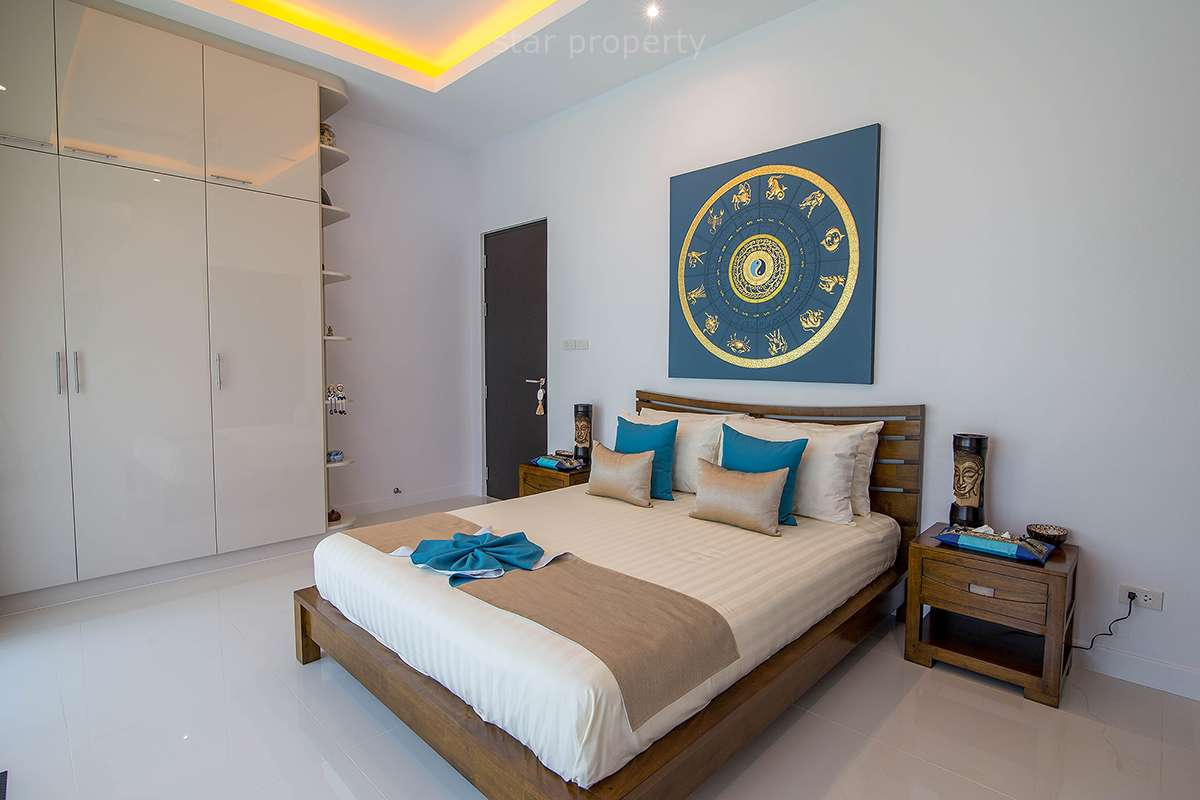 hua hin pool villa for sale wood land