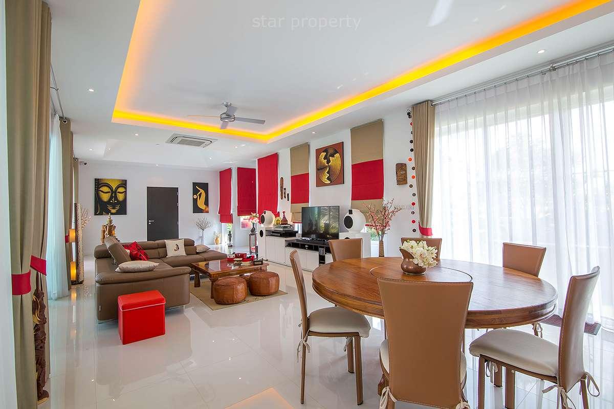 4 bedroom pool villa for sale hua hin