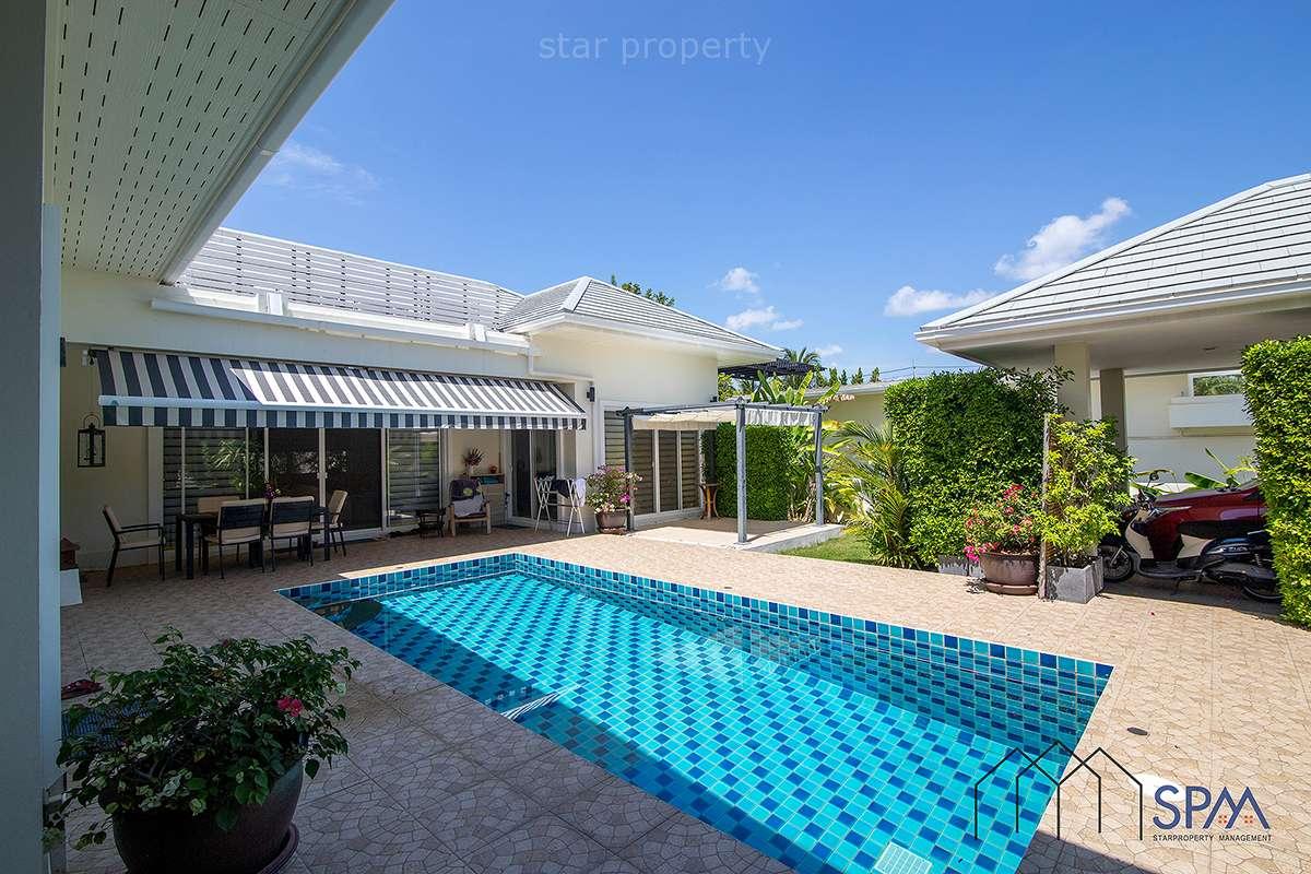 Near Beach Pool Villa for Sale at Sea Breeze Villas Hua Hin Soi 91