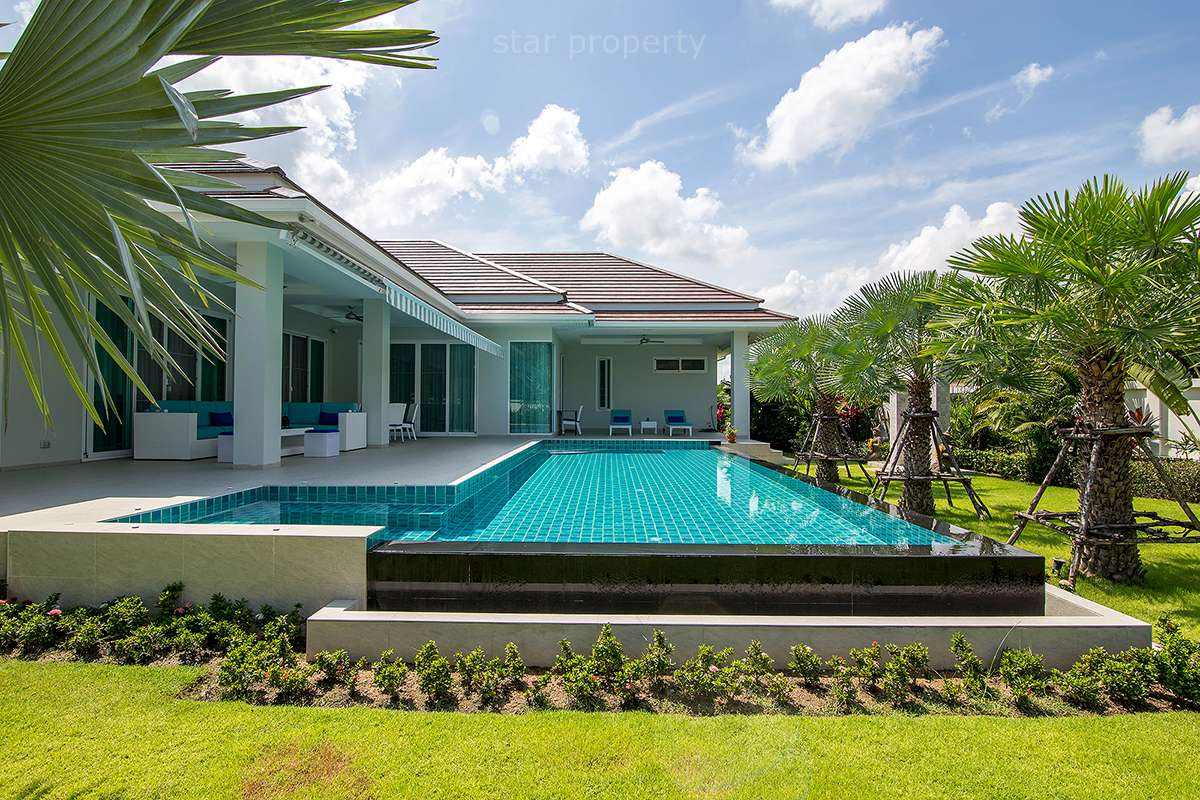 Modern 4 Bedroom Pool Villa for Sale at Wood Land Hua Hin Soi 88