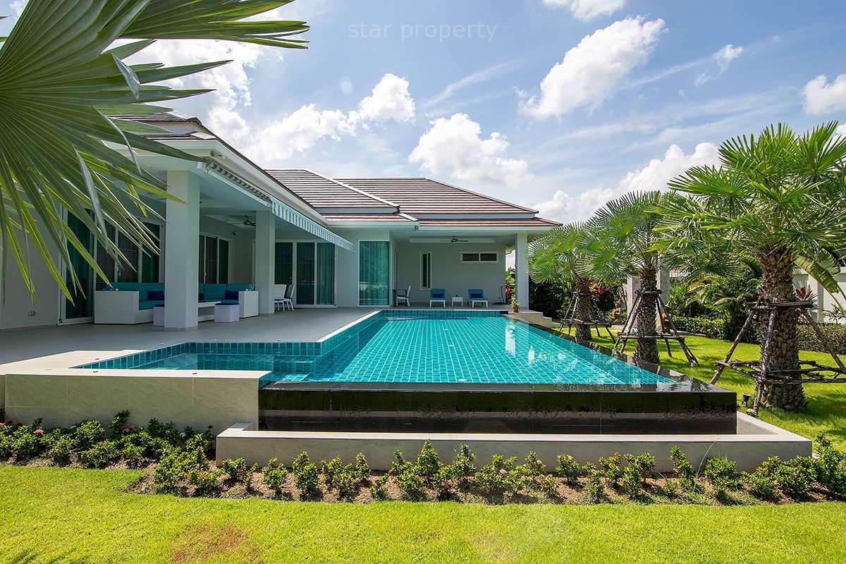 hua hin woodland pool villa for sale