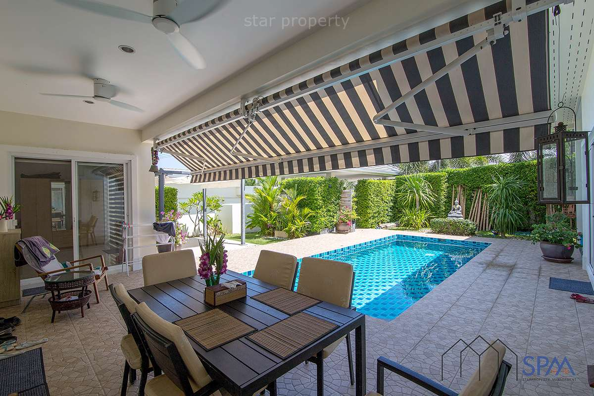 3 bedroom pool villa for sale hua hin soi 91