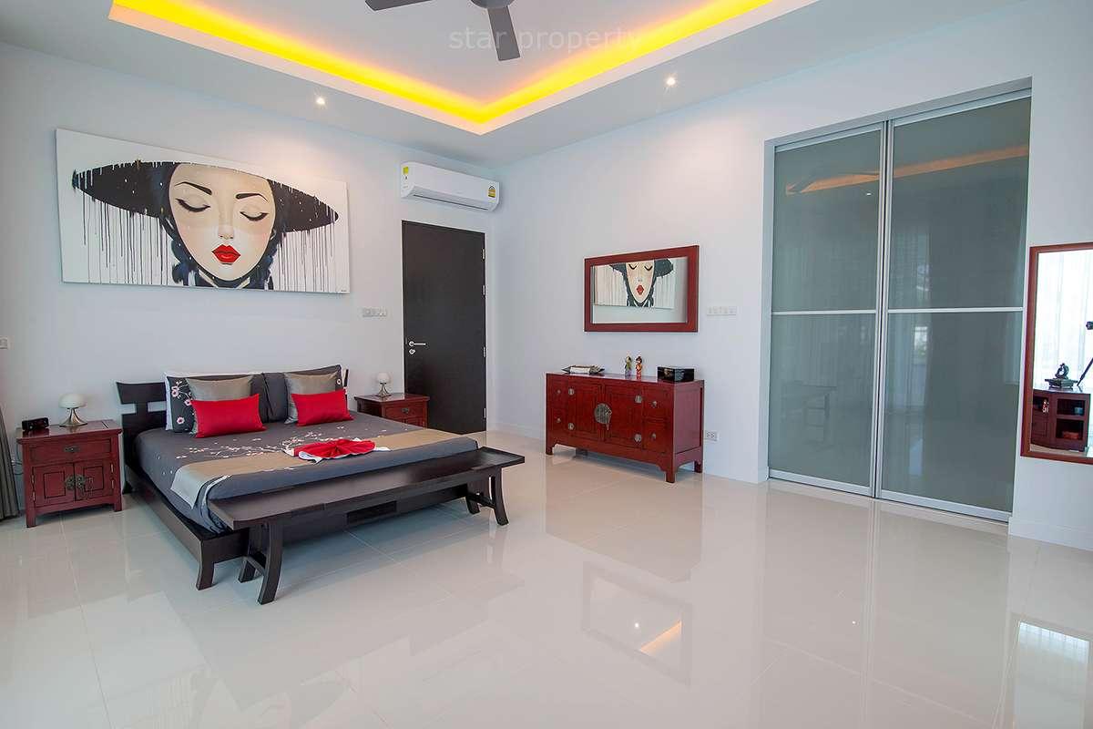 hua hin villa for sale modern kitchen