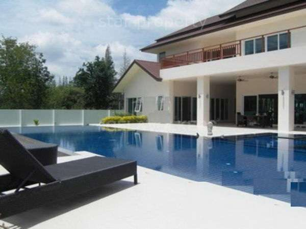 Grand Luxury Pool Villa for sale at 25 KM NORTHWEST OF HUA HIN