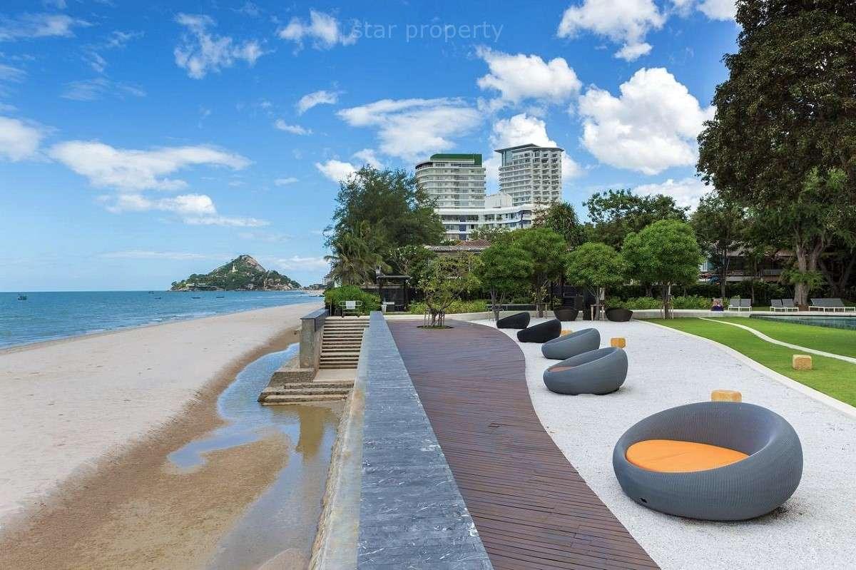 Luxury 3 Bedroom Beachfront Condo for sale at Baan San Suk