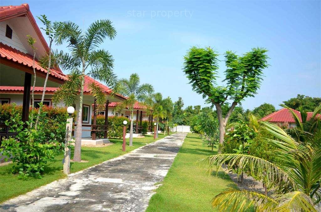large garden resort for sale