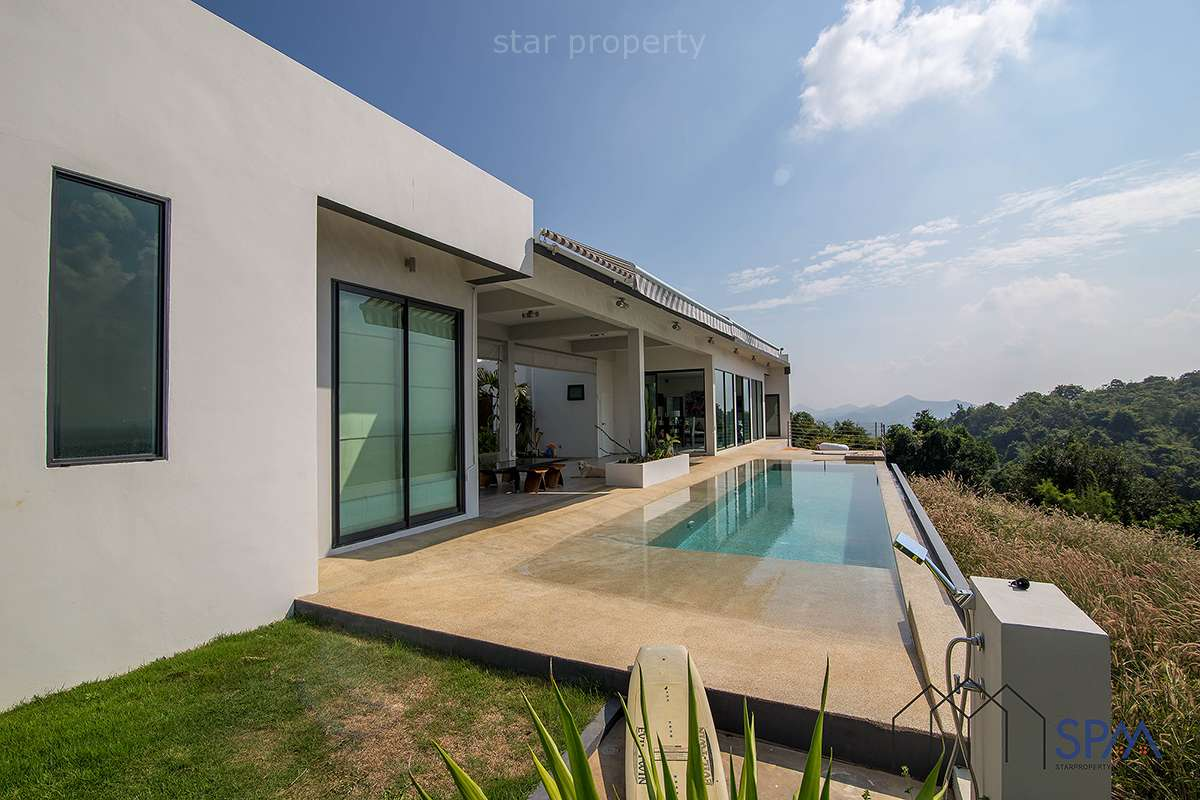 Modern House with Stunning Mountain View at Hua Hin Soi 105