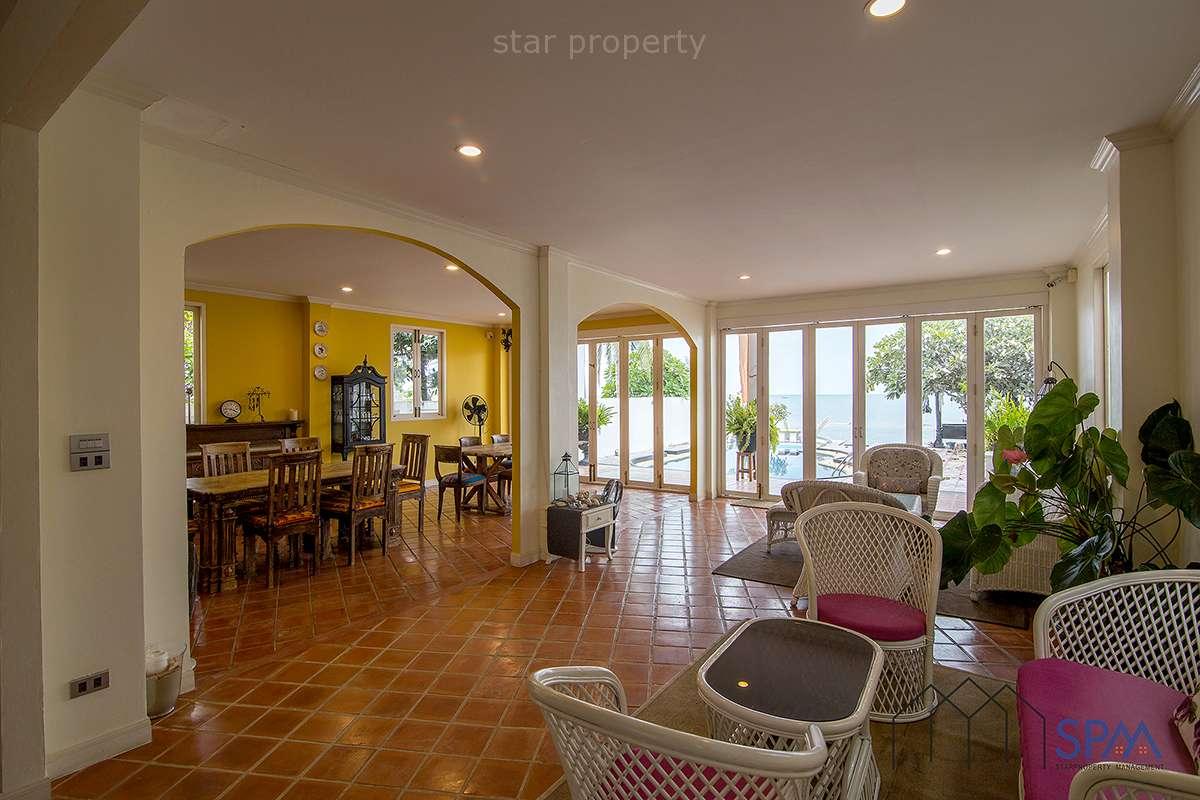 Luxury sea view Beach bedroom villa for  sale