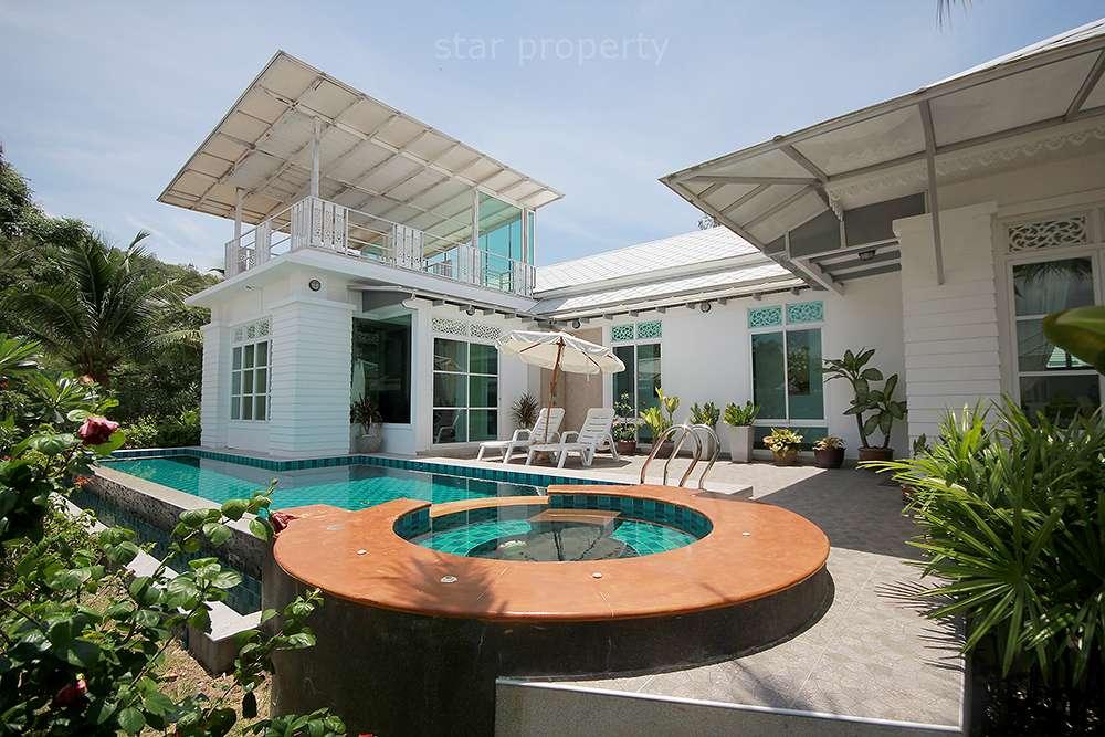 Beautiful Pool Villa For Sale  Soi 56 at Hua Hin District, Prachuap Khiri Khan, Thailand