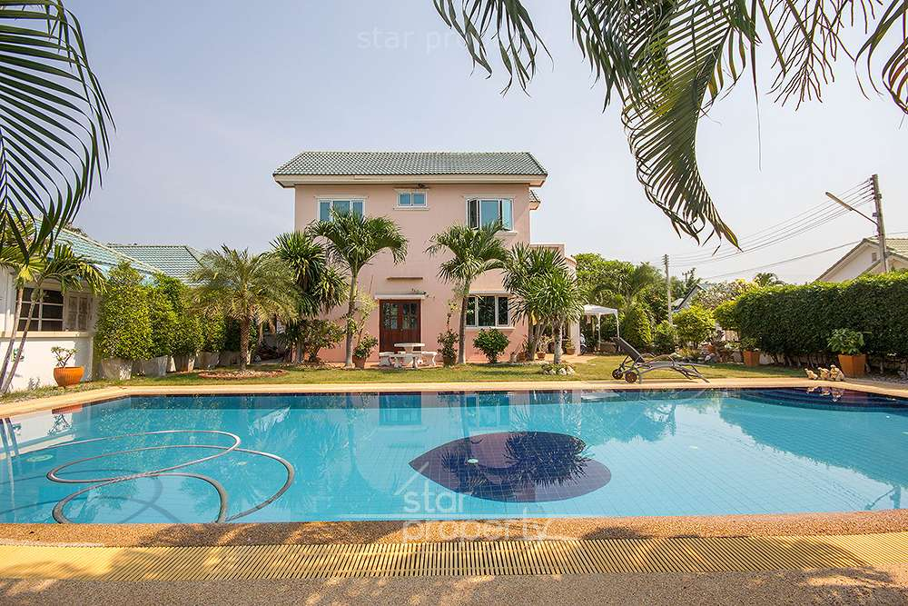 Beautiful Villa at Tropical Hill 1 For Sale at Hua Hin District, Prachuap Khiri Khan, Thailand