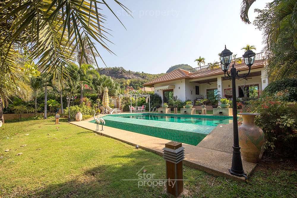 Luxurious Home for Sale at White Lotus  Soi 116 at Hua Hin District, Prachuap Khiri Khan, Thailand