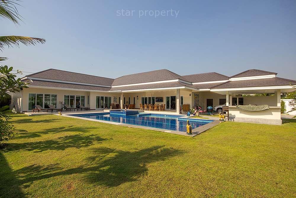 Beautiful House at Palm Pool for Sale at Hua Hin District, Prachuap Khiri Khan, Thailand