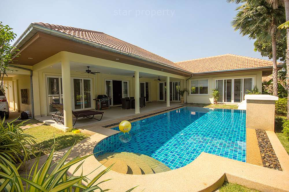 Beautiful Villa at Orchid Palm Home 5 for sale at Hua Hin District, Prachuap Khiri Khan, Thailand