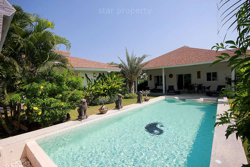 Beautiful Pool Villa for Sale at Grove Villa at Hua Hin District, Prachuap Khiri Khan, Thailand