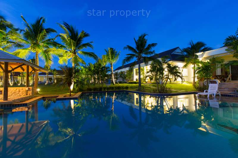 town house with garden pool good price for sale hua hin
