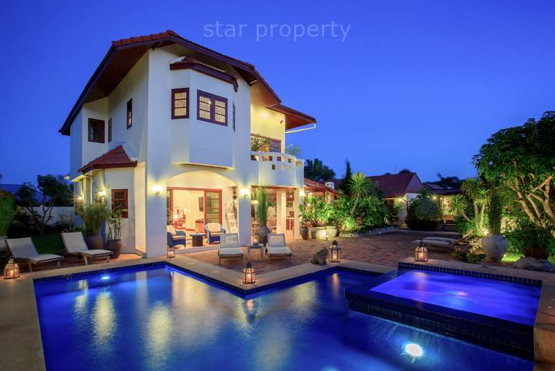 Luxurious House with Private Pool Soi 94 for sale at Hua Hin District, Prachuap Khiri Khan, Thailand
