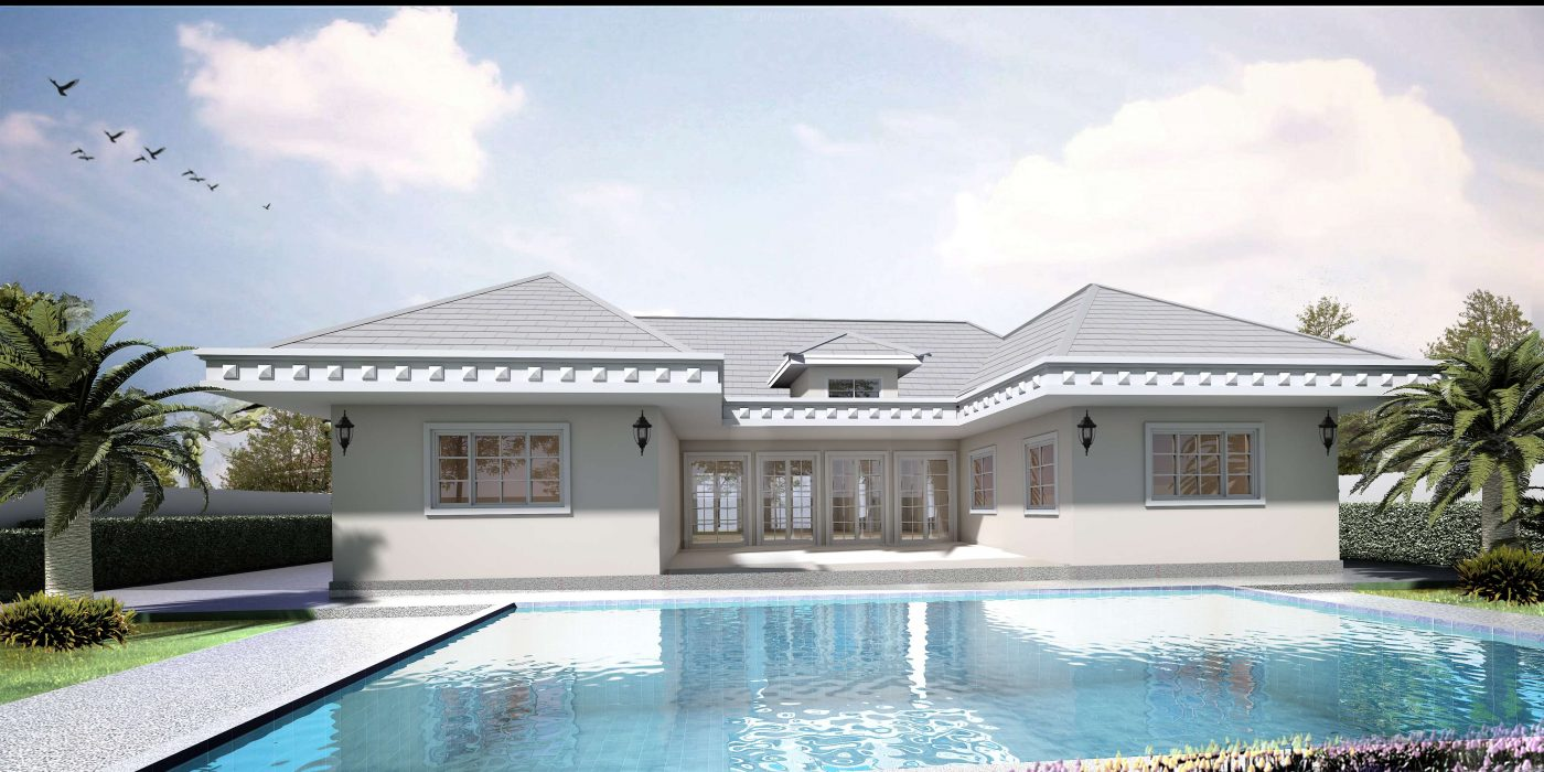Open plan modern villas for sale at Pineview Hua Hin