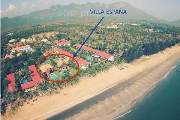 Beachfront 2 storey Villas on 2 Rai of Land for sale at Vila Espana