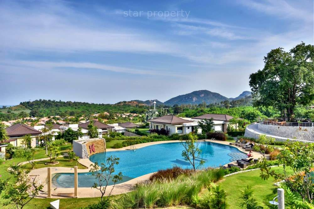 3 Bedroom Pool Villa with Sea and Mountain Views at Resort
